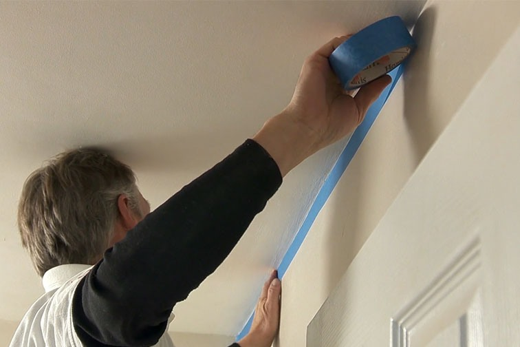 Mask off your wall and any areas you do not want to paint.